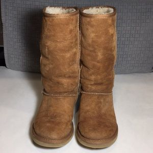 UGG Classic Tall Chestnut Boots Size 6